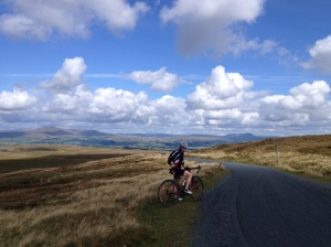 Beautiful Day training in the Yorkshire Dales.